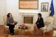 "President Jahjaga received the representatives of the association ""The Qiriazi sisters"""